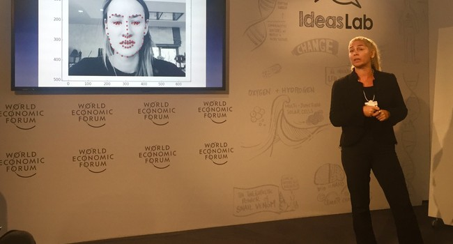 Speaking at World Economic Forum in Davos 2016 at Nature's Ideas Lab