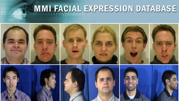 Pity, examples of facial expressions