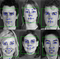 Detection of static geometric facial features